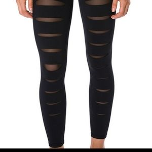 Betsey Johnson Performance Slashed Front Legging